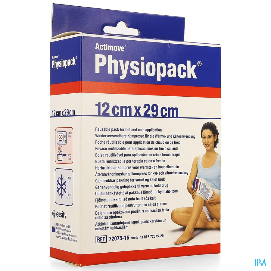 Actimove Physiopack 12cmx29cm 1 7207516