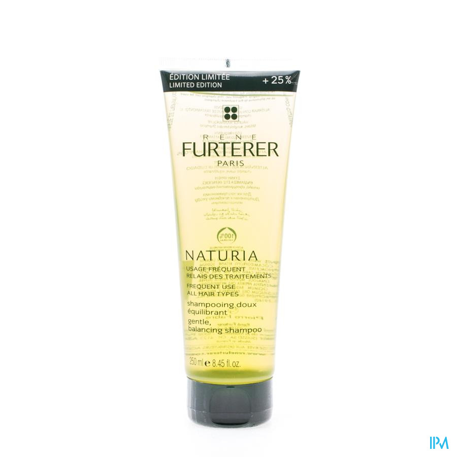 Furterer Naturia Shampoo Tube 200ml+50ml