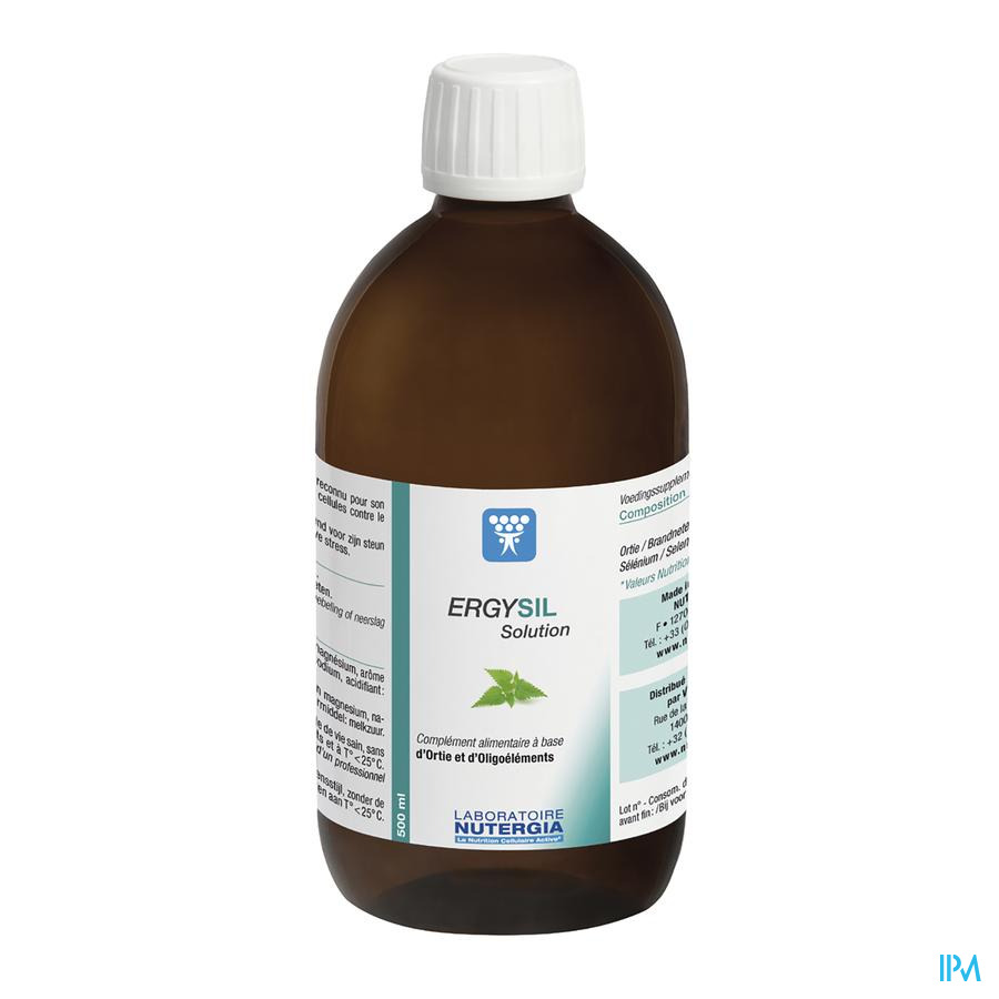 Ergysil Oplossing Liq 500 ml  -  Lab. Nutergia