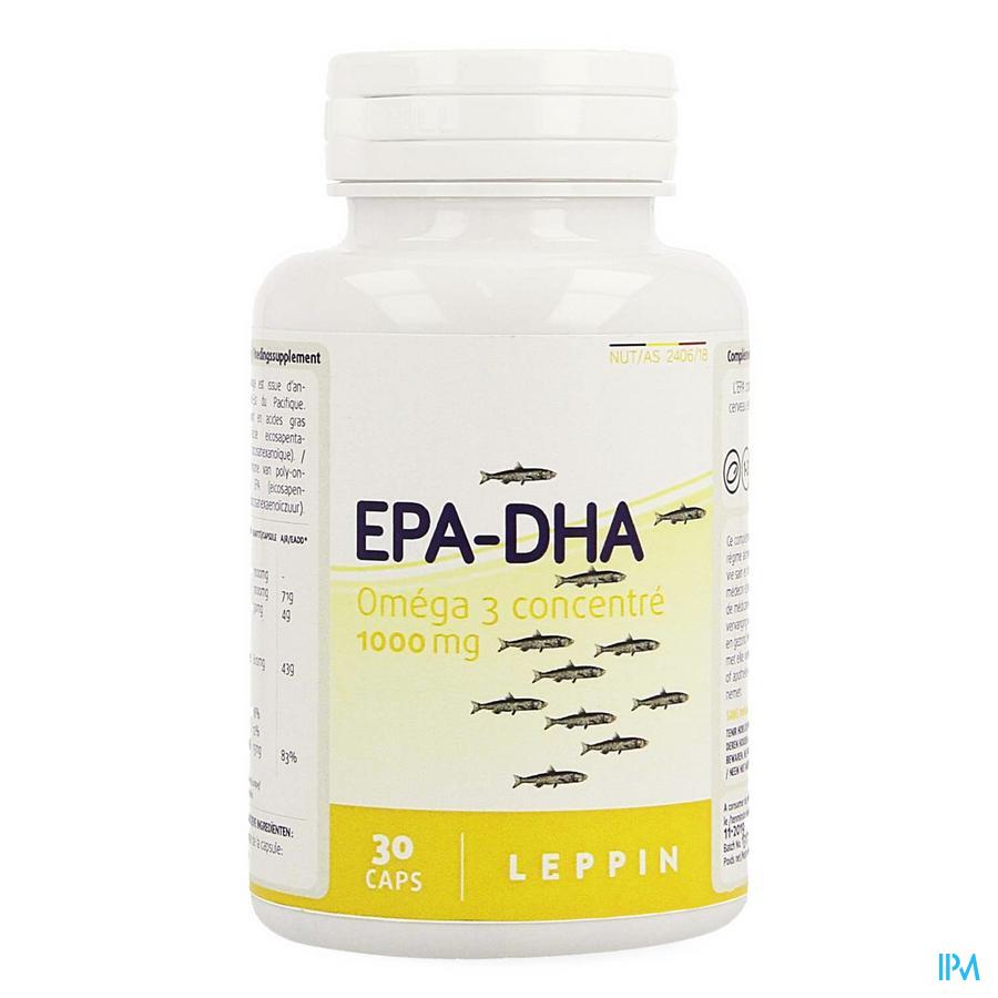 Leppin Epa - Dha 1000 mg Capsule 30