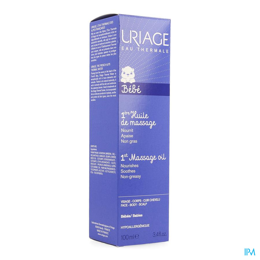Uriage Massageolie 100ml