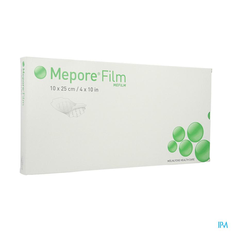 Mepore Film Verb Ster Tr. Adh 10x25cm 10 272570