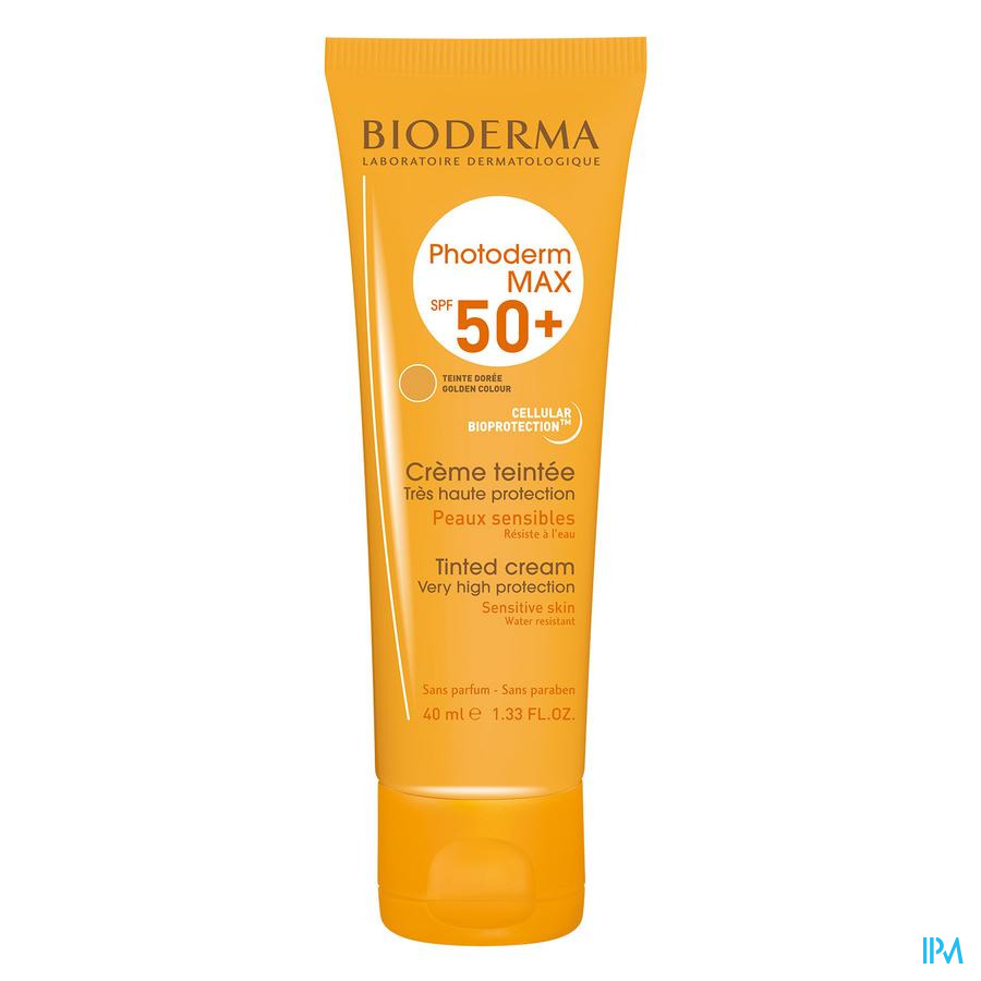 Bioderma Photoderm Max Creme Getint Ip50+ Tbe 40ml