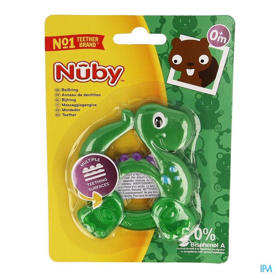 Nuby C Figure Dentition +4m