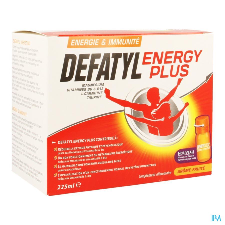 Defatyl Energy Plus 15x15ml
