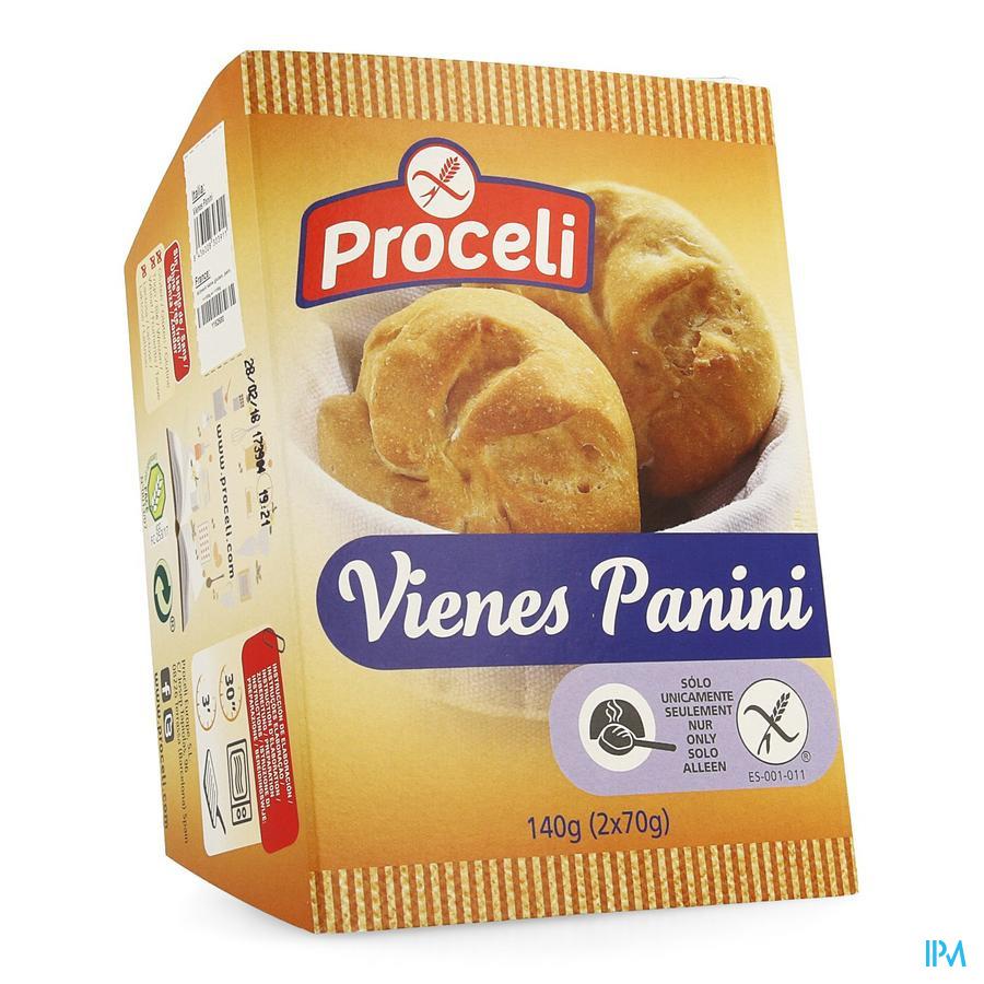 Proceli Vienes Panini Rte 2x140g
