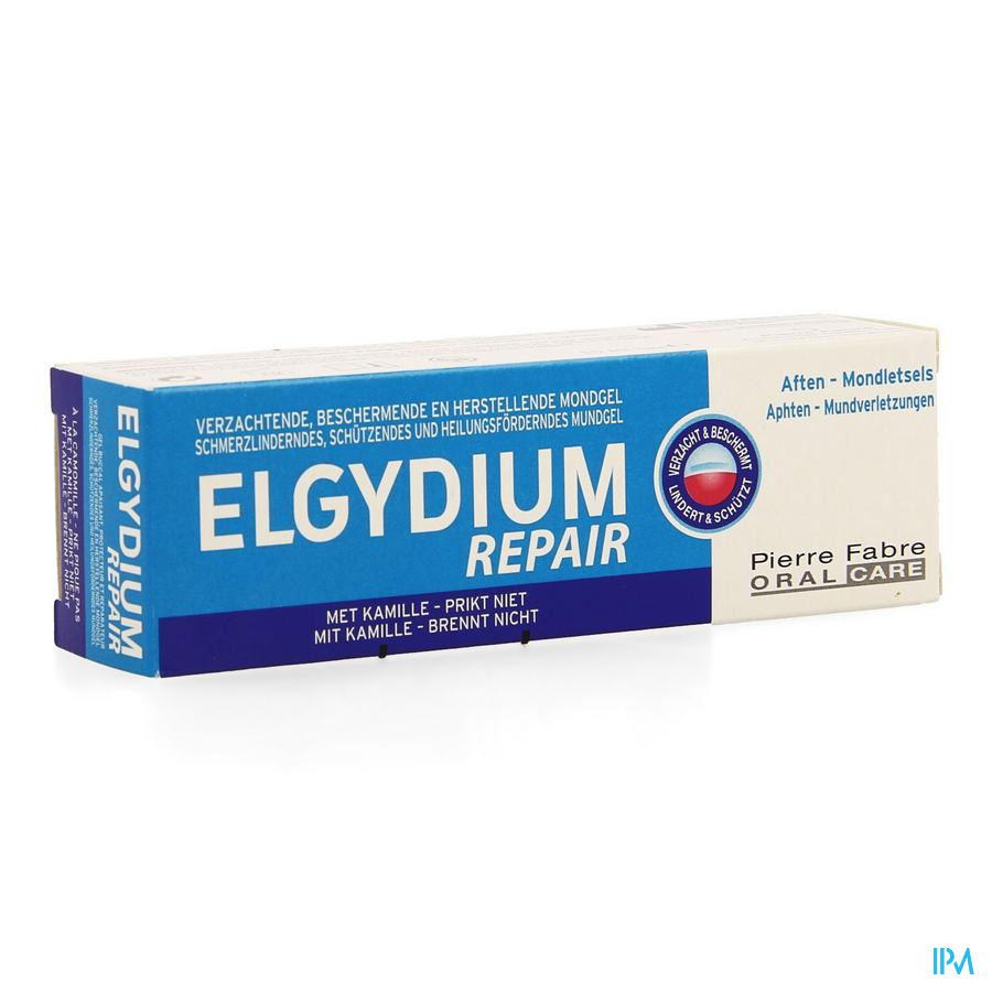 Elgydium Repair Mondgel Tube 15ml Nf