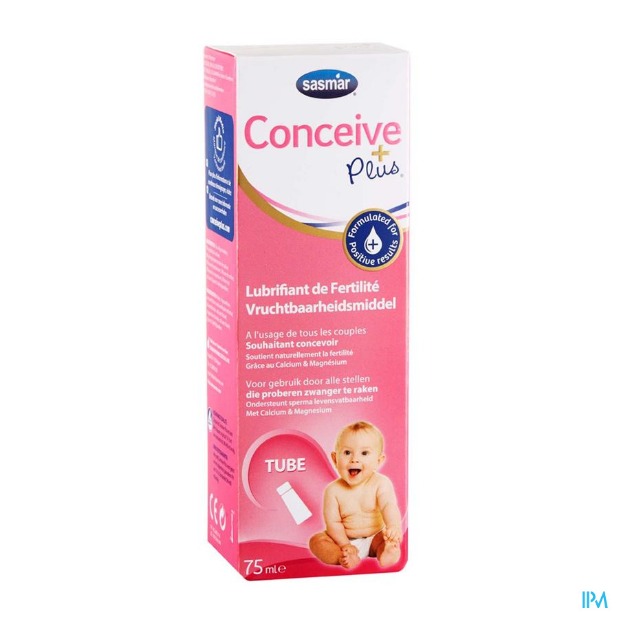 Conceive Plus Pre-conception Lubricant Tube 75ml