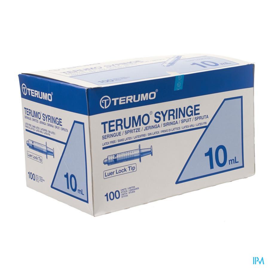 Terumo Spuit Luer Lock 10ml 100