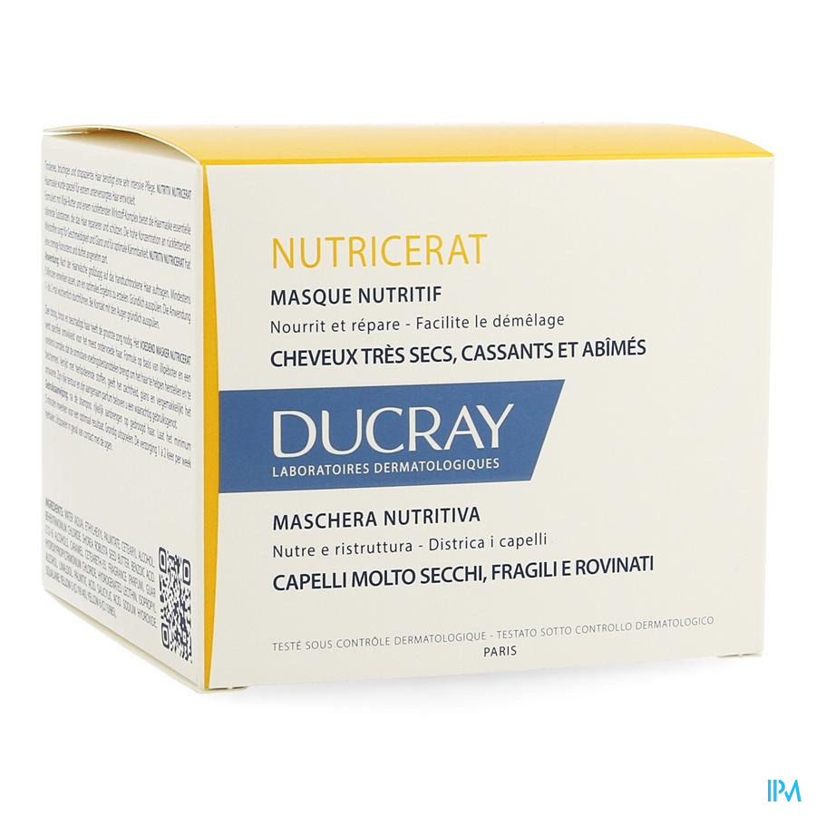 Ducray Nutricerat Masque 150ml