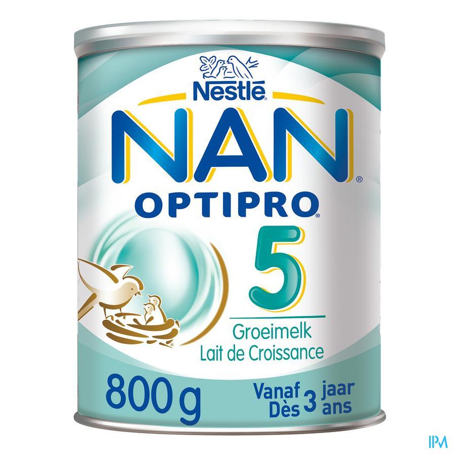 Nan Optipro 5 Groeimelk Pdr 800g