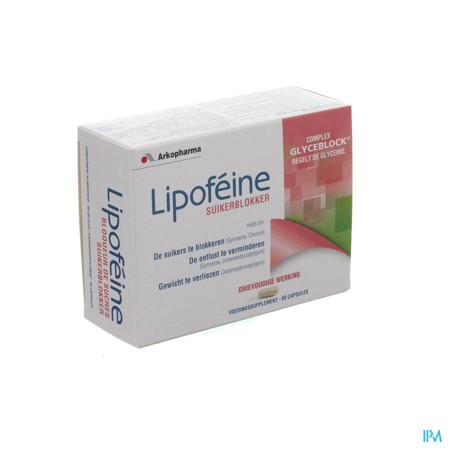 Lipofeine Suikerblokker Caps 60