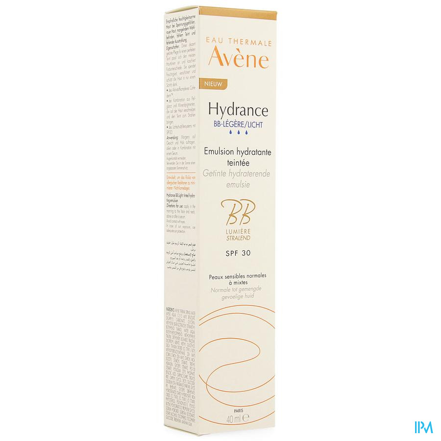 Avene Hydrance Bb Legere Tube 40ml