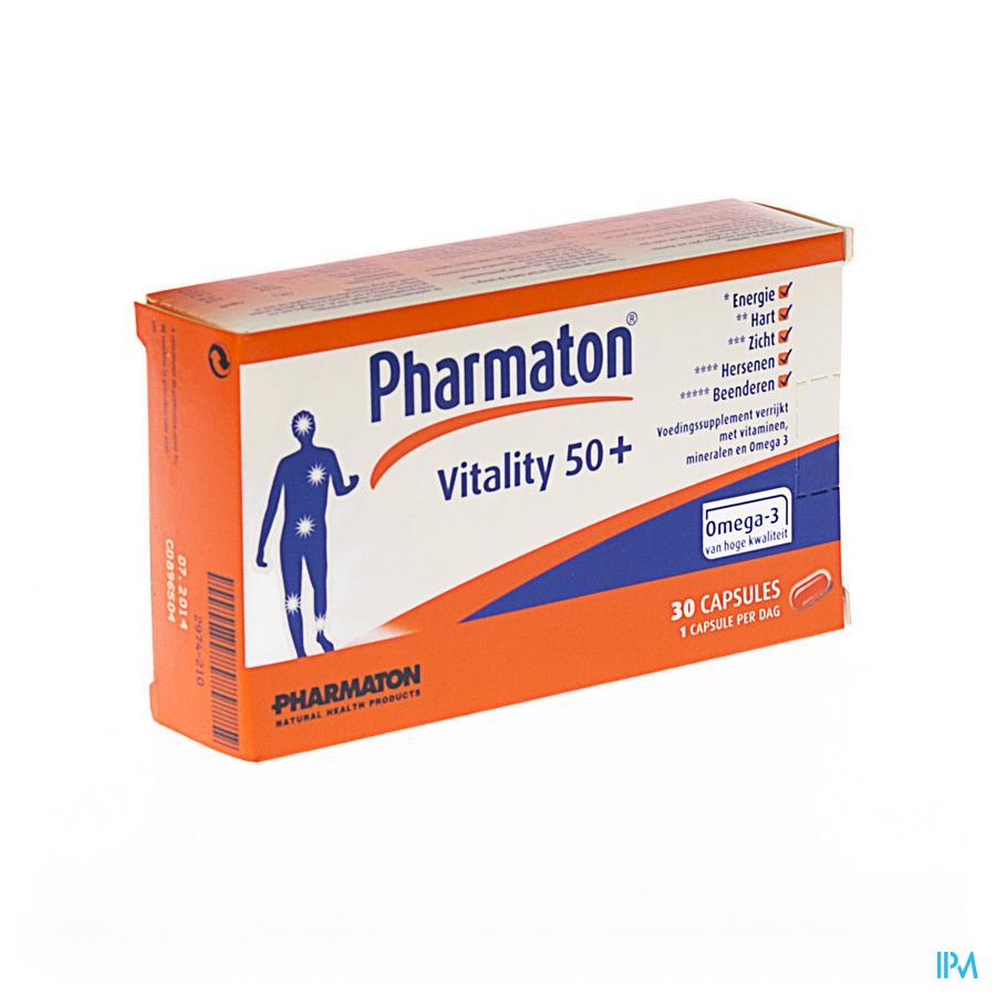 Pharmaton Vitality 50+ Caps 30