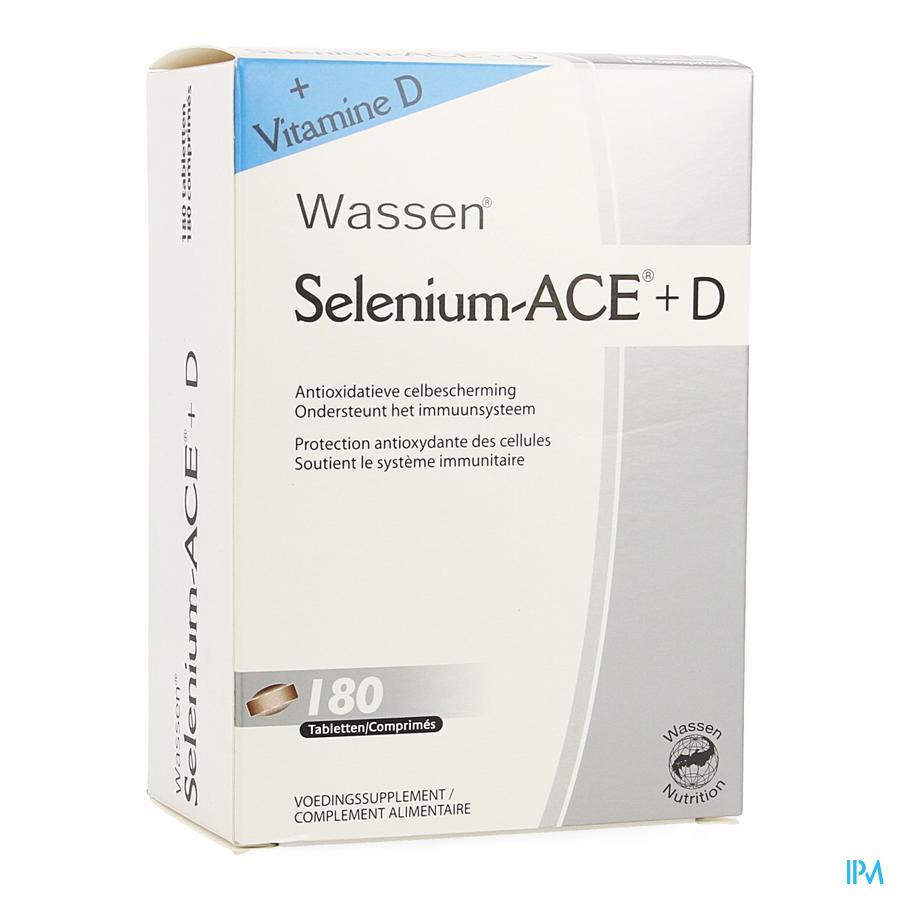Selenium Ace+d Comp. 180