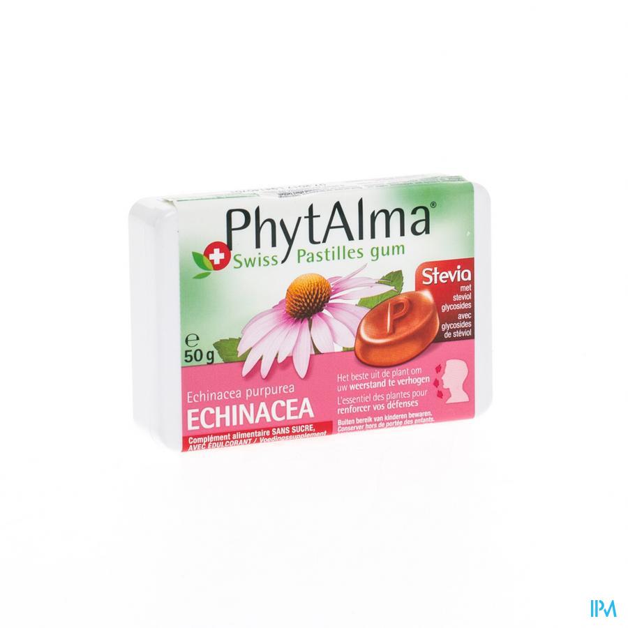 Phytalma Gompastilles Echinacea Extr. + Stevia 50g