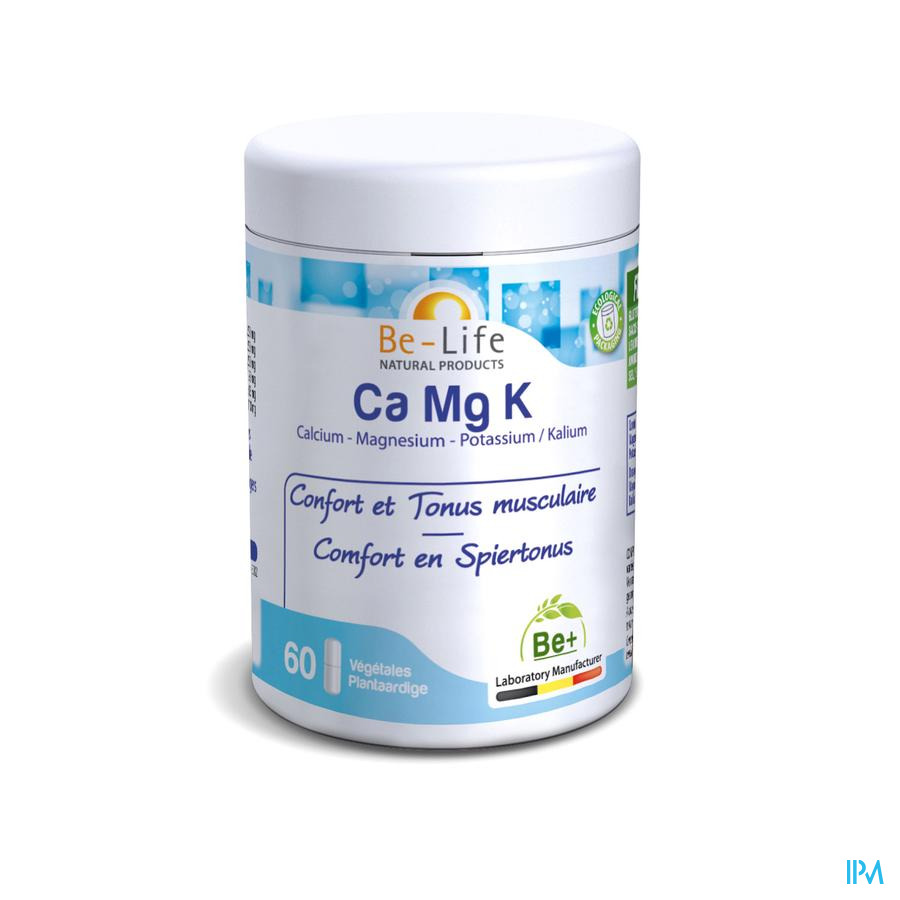 Ca-mg-k Minerals Be Life Nf Gel 60