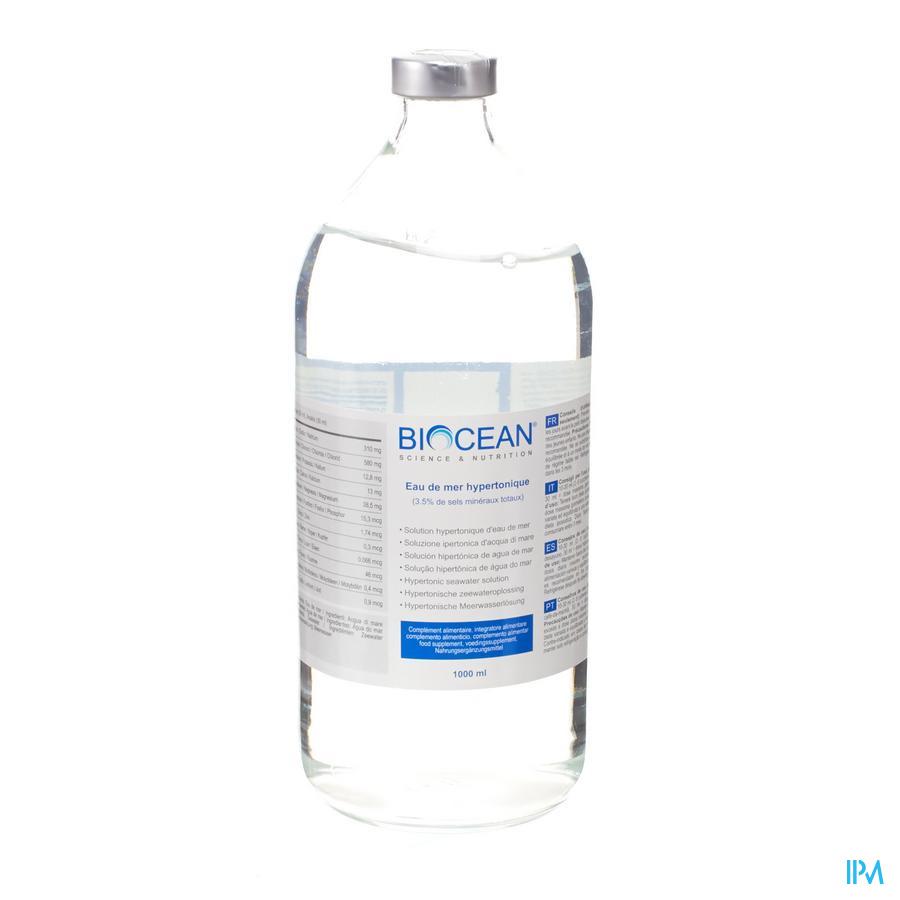 Biocean Hypertonic Quinton Amp 1000ml