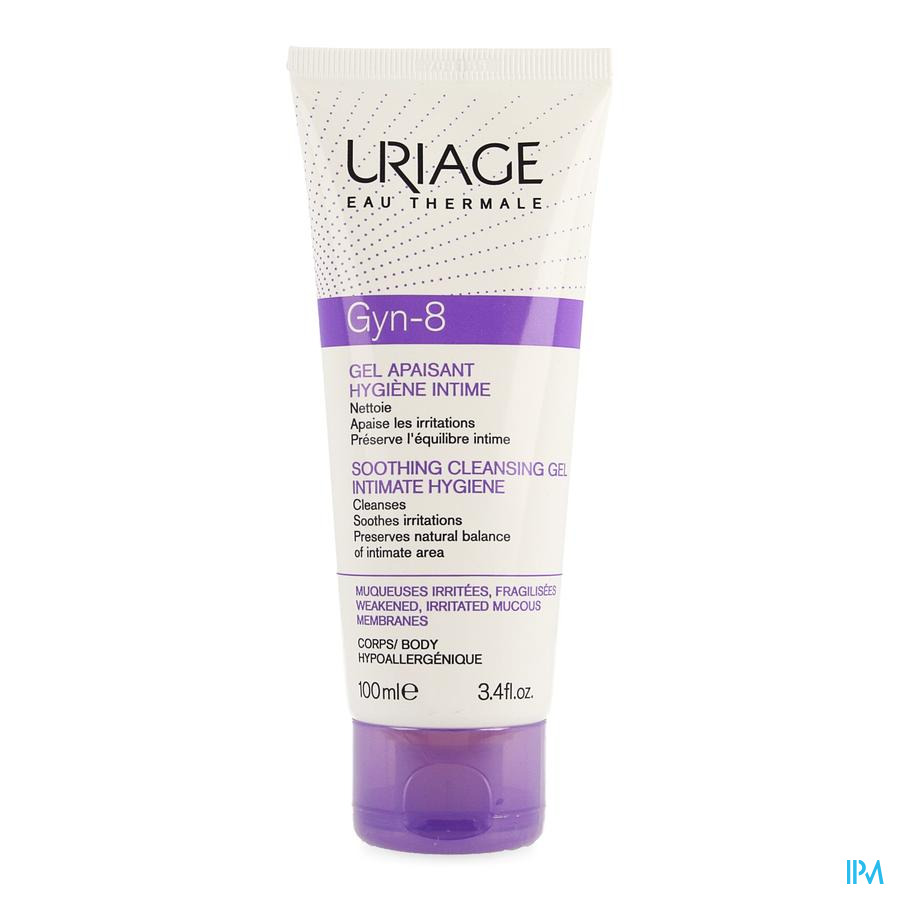Uriage Gyn-8 Gel Apaisant 100ml