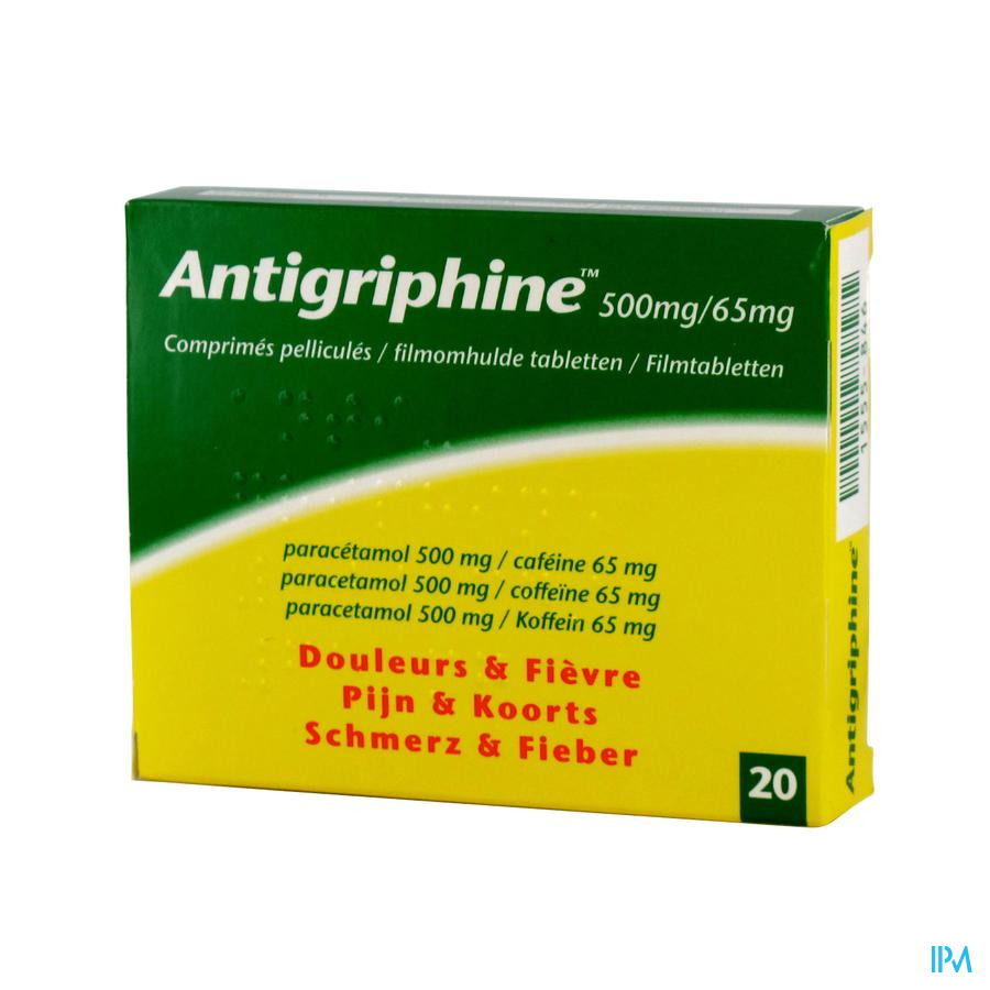 Antigriphine Tabletten 20 X 500 mg