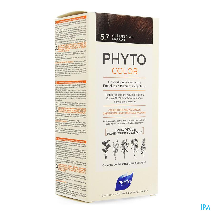 Phytocolor 5.7 Chatain Clair Marron
