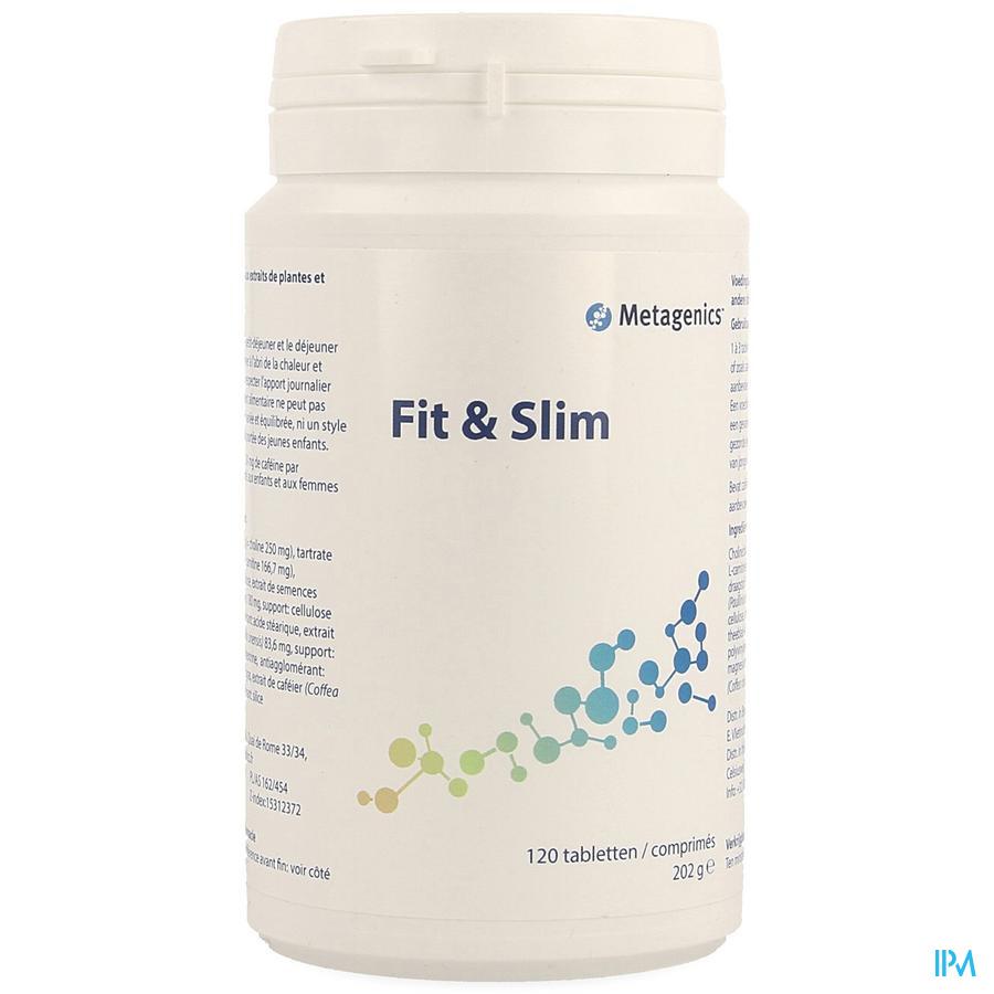 Fit & Slim Comprimés 120 975 Metagenics