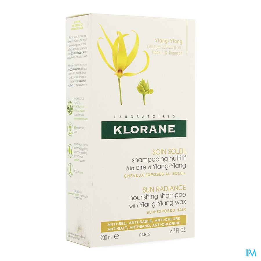Klorane Capil. Sh Ylang Ylang 200ml