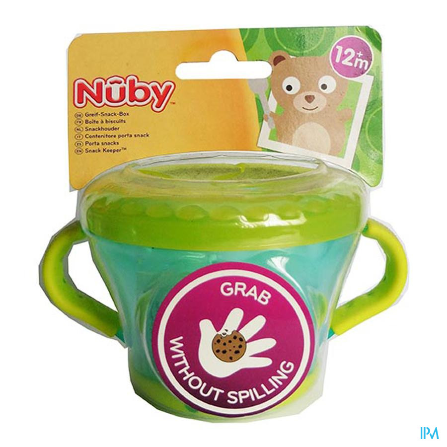 Nuby Boîte à biscuits - 12m+
