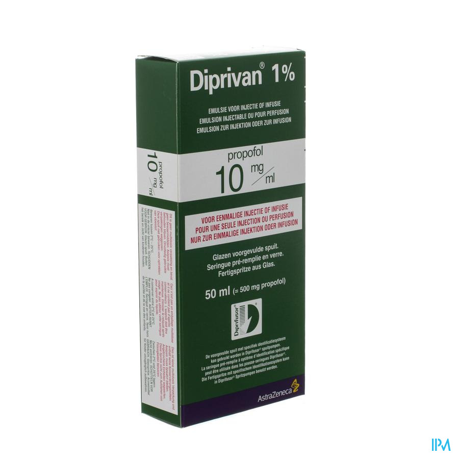 Diprivan 1 Ser Inj 50ml