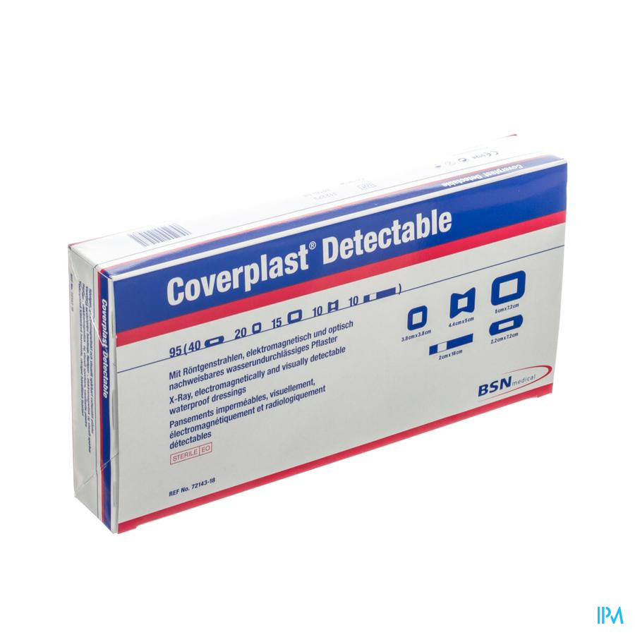 Coverplast Detectable Assortiment Pleisters 95