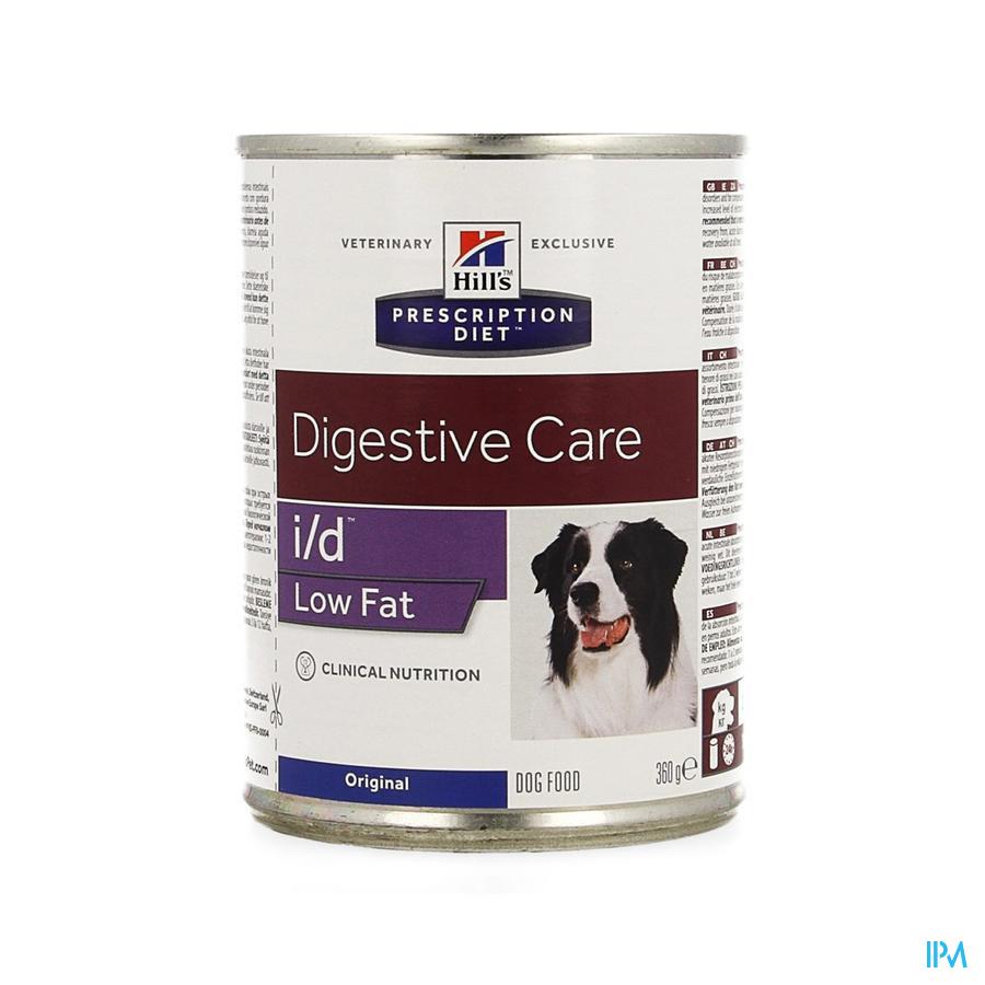 Prescription Diet Canine I/d Low Fat Blik 360g