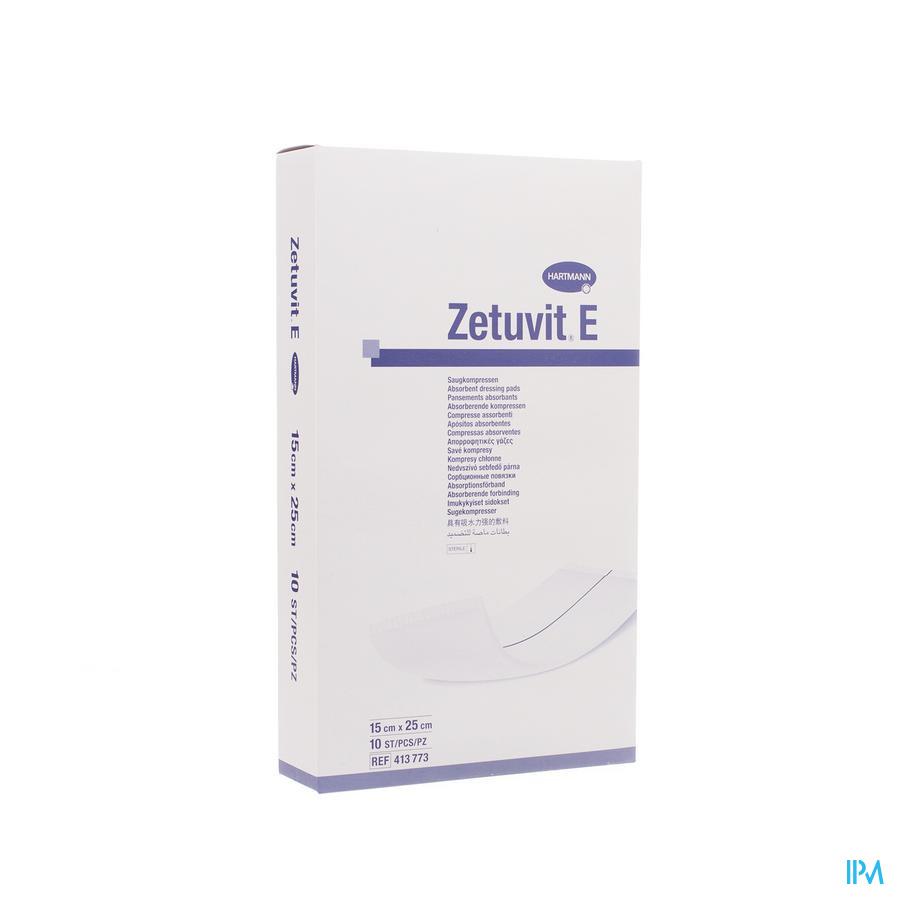 Zetuvit E Hartm Ster 15x25cm 10 4137732