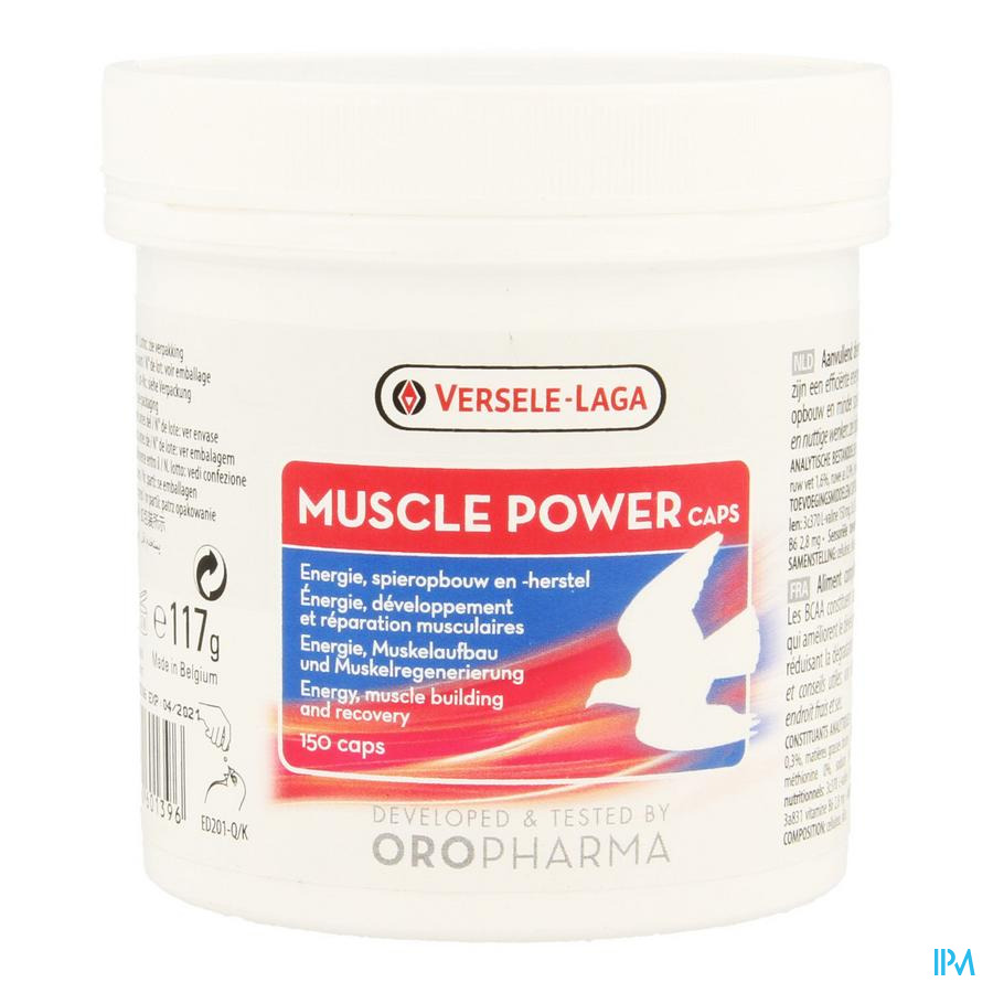 Muscle Power Caps 150