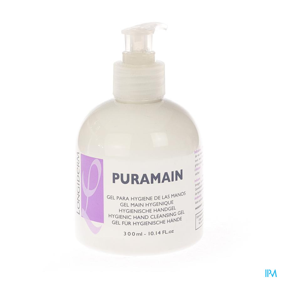 Puramain Gel Main Hygienique Fl Pompe 300ml