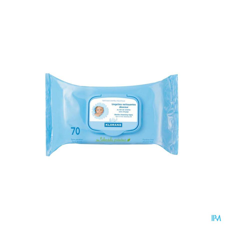 Klorane Bb Lingettes Biodegradable 70
