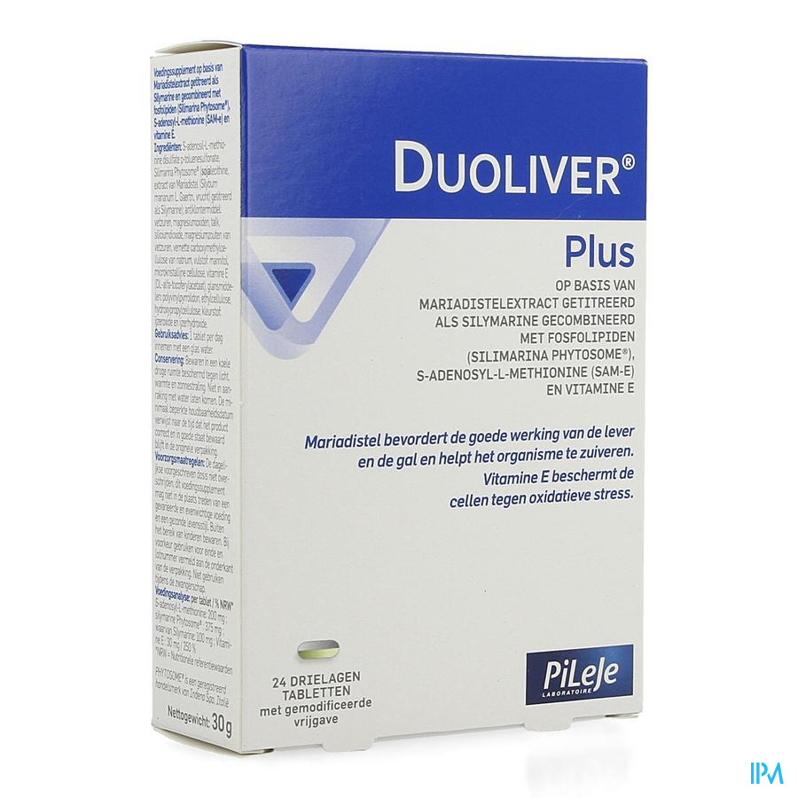 Duoliver Plus Drielagen Caps 24