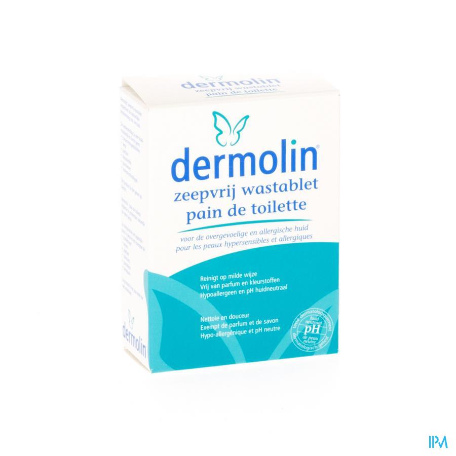 DERMOLIN ZEEPVRIJ WASTABLET N/PARF NF 100G