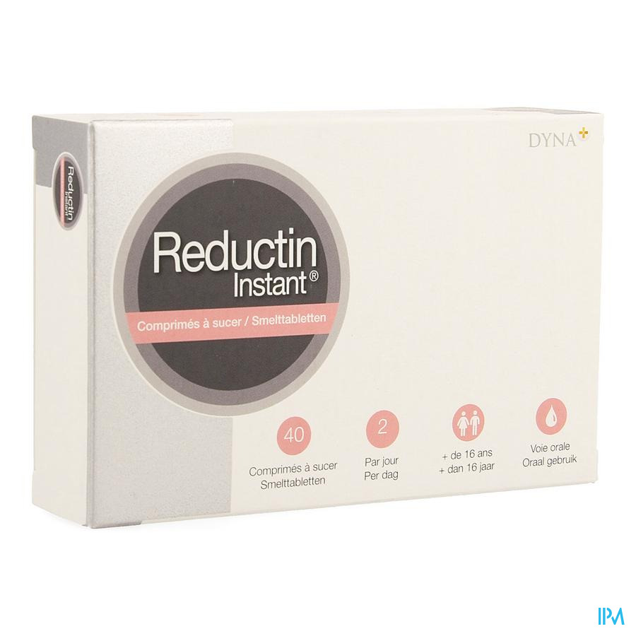 REDUCTIN INSTANT 40 ZUIGTABL