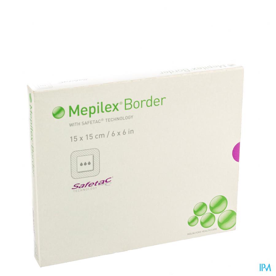 Mepilex Border Sil Adh Ster Nf 15,0x15,0 5 295400