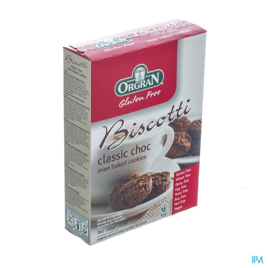 Orgran Biscotti Choc Chip 150g 4193