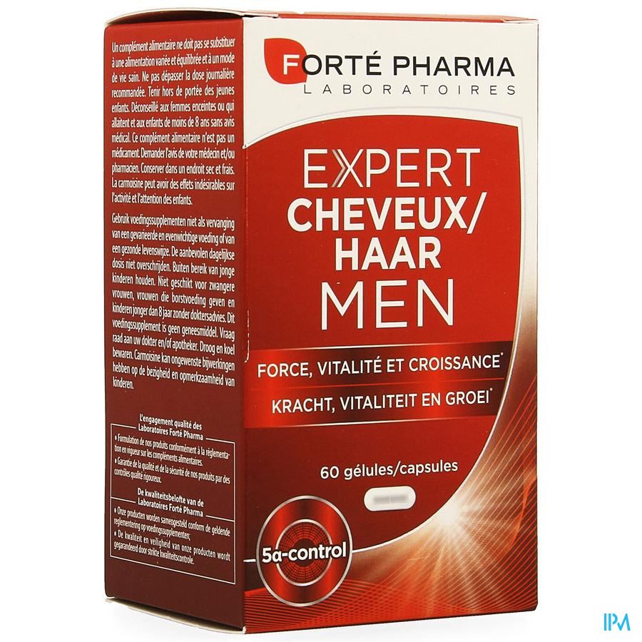 Expert Cheveux Men Caps 60