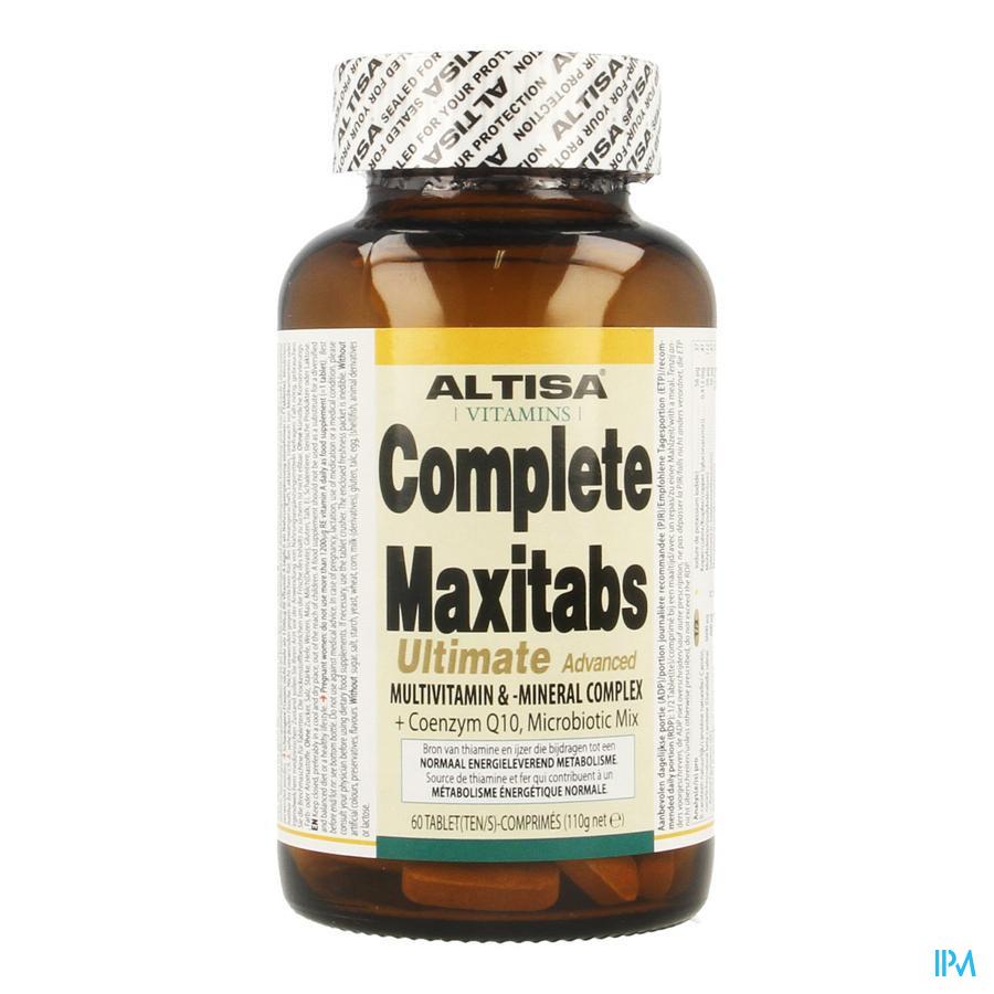 Altisa Complete Maxitabs Ultimate + Q10 Tabl 60