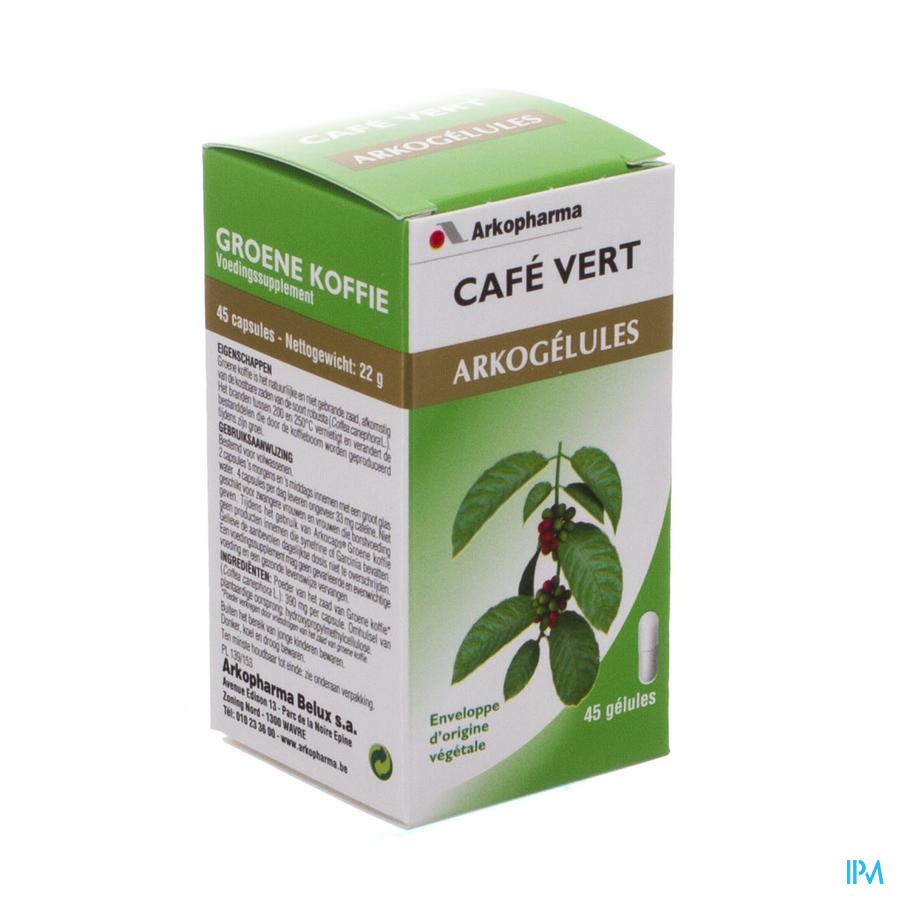 Arkogelules Cafe Vert Nf Caps 45
