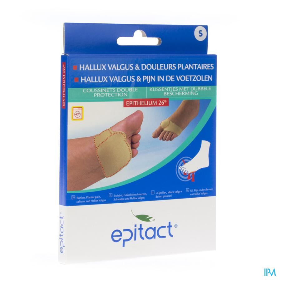 Epitact Coussinet Dbl Protect.petit 1 Paire Cd2611