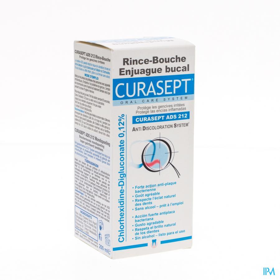 Curasept Bain De Bouche 0,12% 200ml