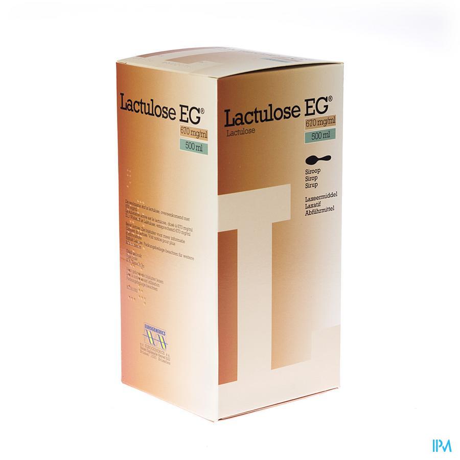 Lactulose Eg Sirop 500ml