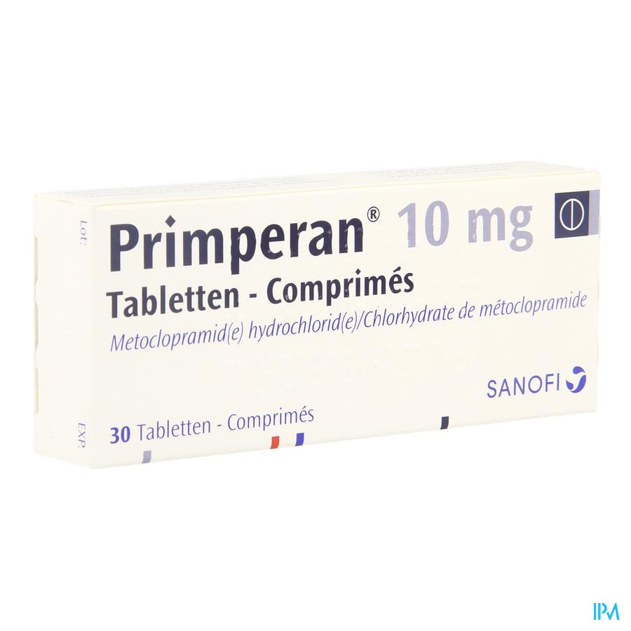 Primperan Comp 30 X 10mg