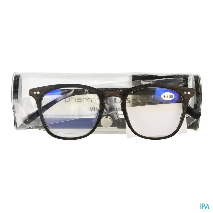 Pharmaglasses Visionblue Pc02 Lun.lect.+0.00 Brown