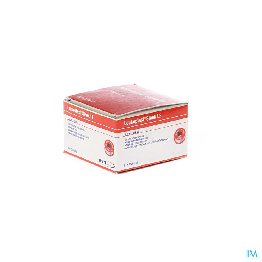 Leukoplast Sleek Spoel+deksel 2,50cmx5m 7235902
