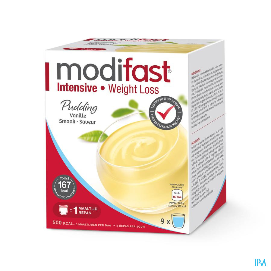 Modifast Intensive Pudding Vanille Sach 9